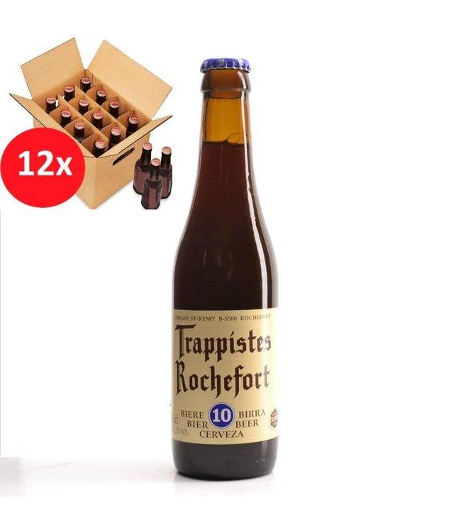 SET VAN 12    l-------l Trappistes Rochefort 10 12 Pack