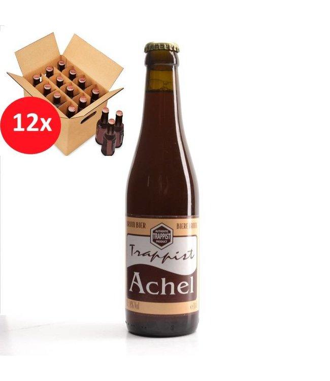 SET VAN 12    l-------l Trappist Achel Bruin 12 Pack