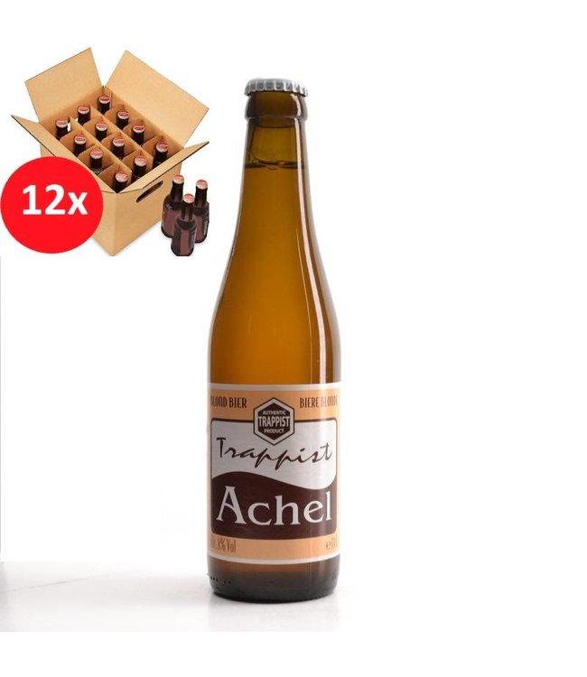 SET VAN 12    l-------l Trappist Achel Blond 12 Pack