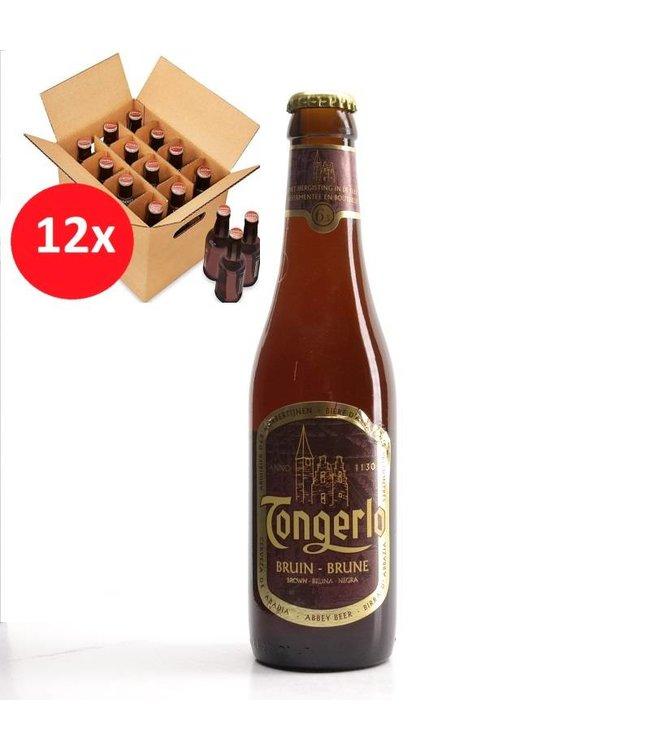 SET VAN 12    l-------l Tongerlo Bruin 12 Pack