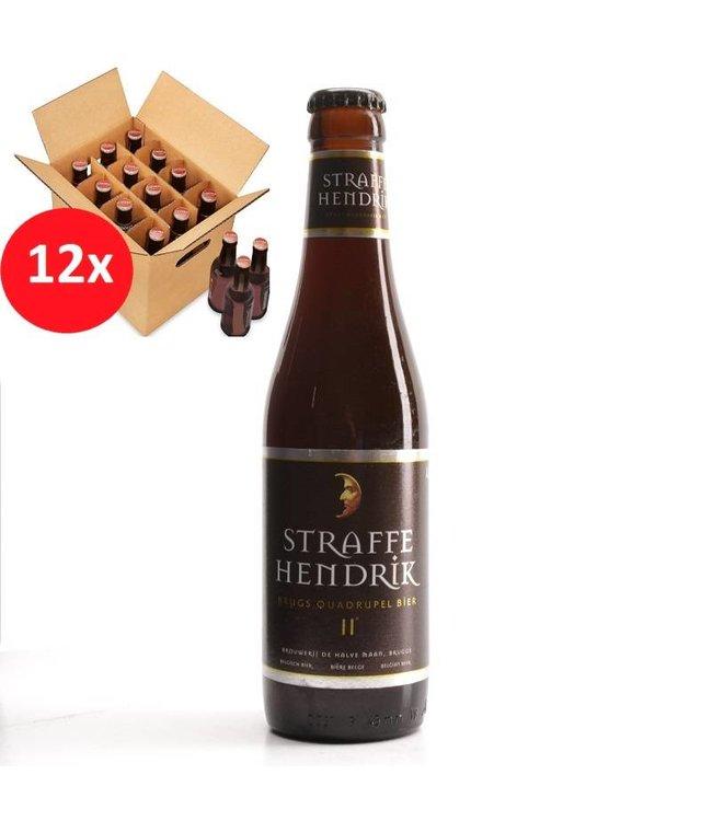 SET VAN 12    l-------l Straffe Hendrik Quadrupel 12 Pack