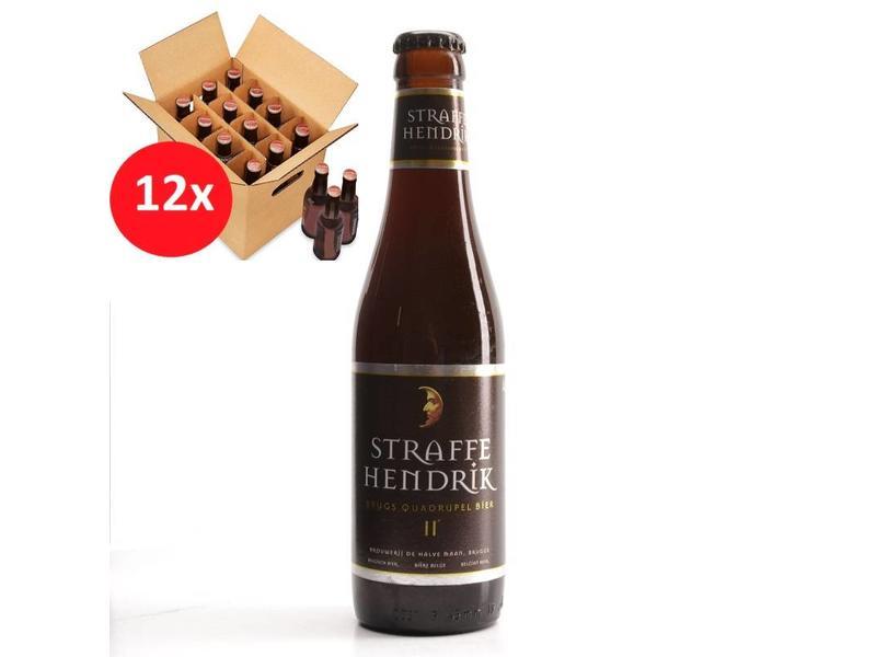 Mag 12set // Straffe Hendrik Quadrupel 12 Pack