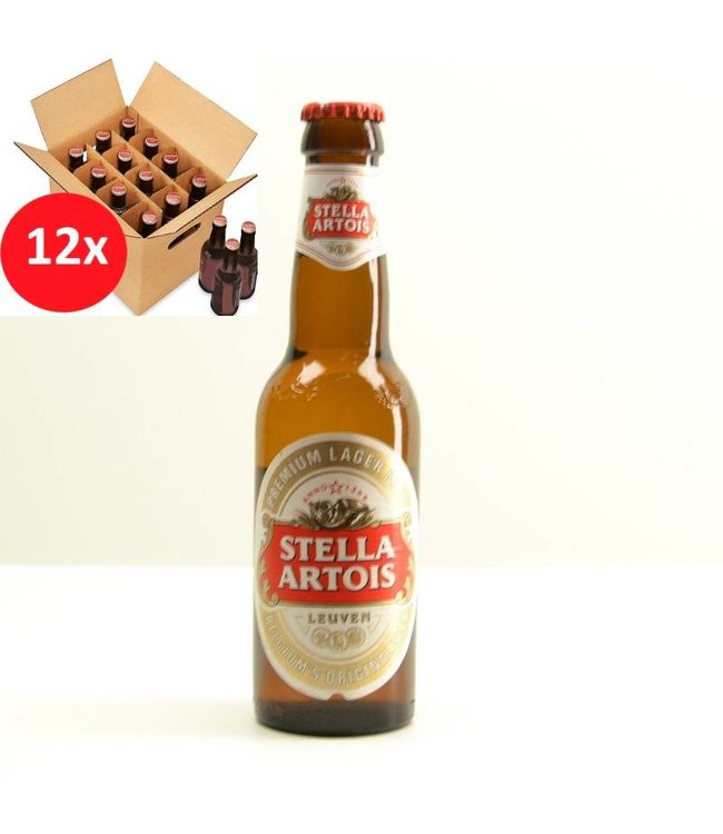 SET VAN 12    l-------l Stella Artois 12 Pack