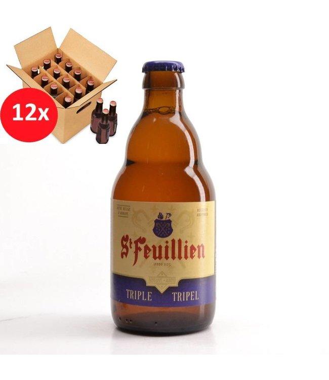 SET VAN 12    l-------l St Feuillien Tripel 12 Pack