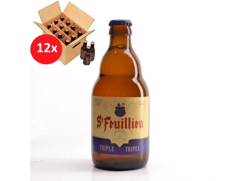 WA 12 pack St Feuillien Tripel 12 Pack