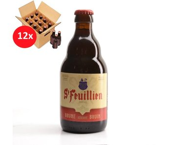 St Feuillien Brown 12 Pack