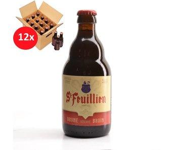 St Feuillien Brown 12 Pack