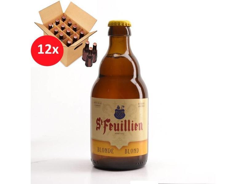 T St Feuillien Blond 12 Pack