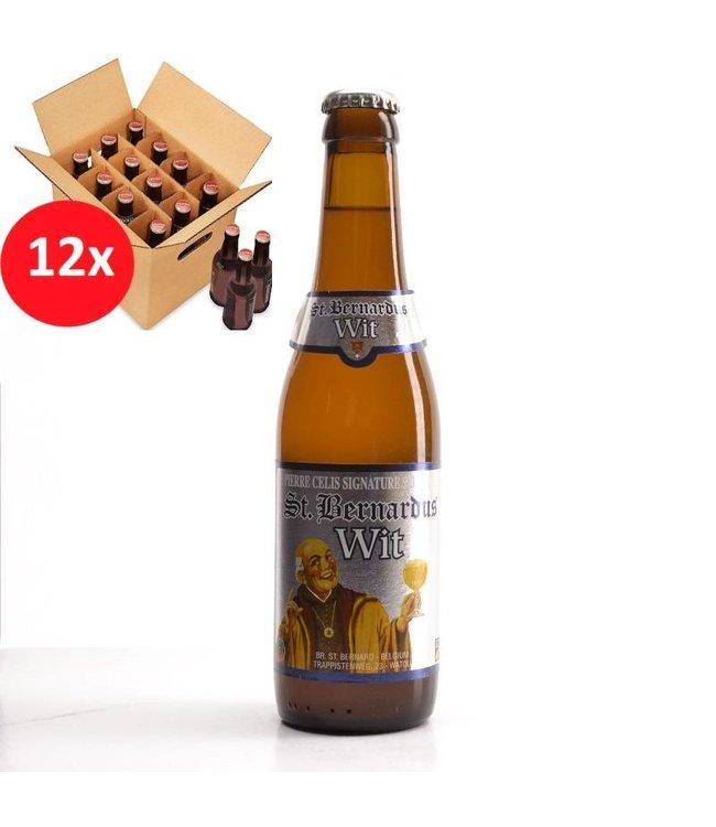 SET VAN 12    l-------l St Bernardus Wit 12 Pack
