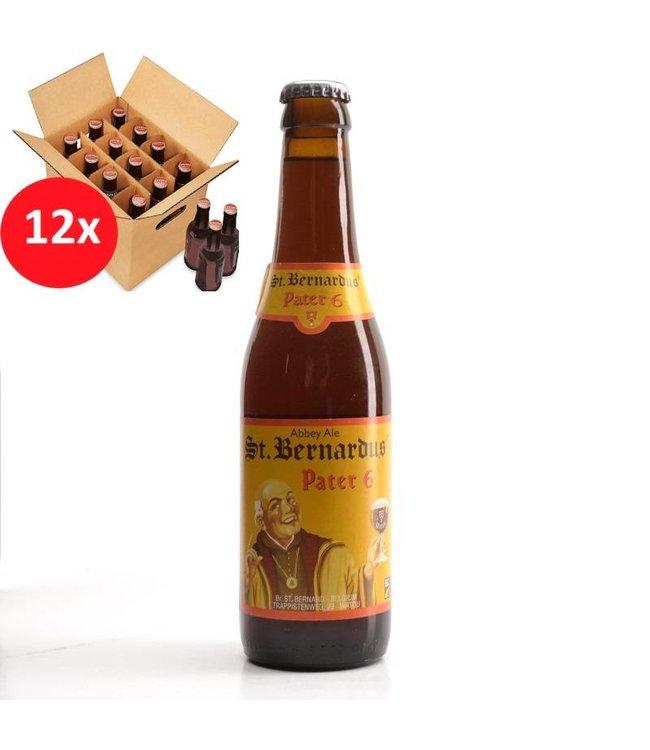 SET VAN 12    l-------l St Bernardus Pater 6 12 Pack