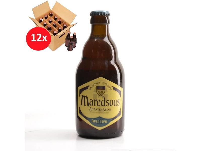WA 12 pack / CLIP 12 Maredsous Triple 12 Pack