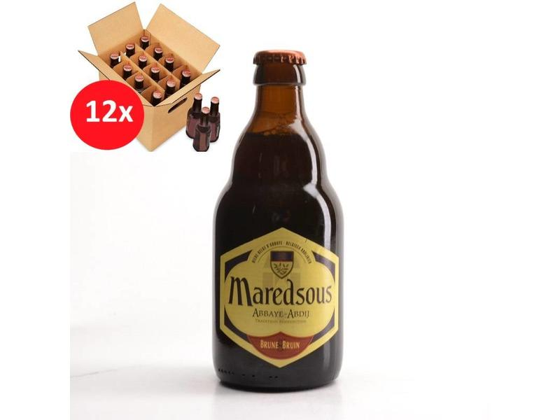 MA 12 pack / CLIP 12 Maredsous Brown 12 Pack