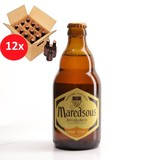 WA 12 pack / CLIP 12 Maredsous Blonde 12 Pack