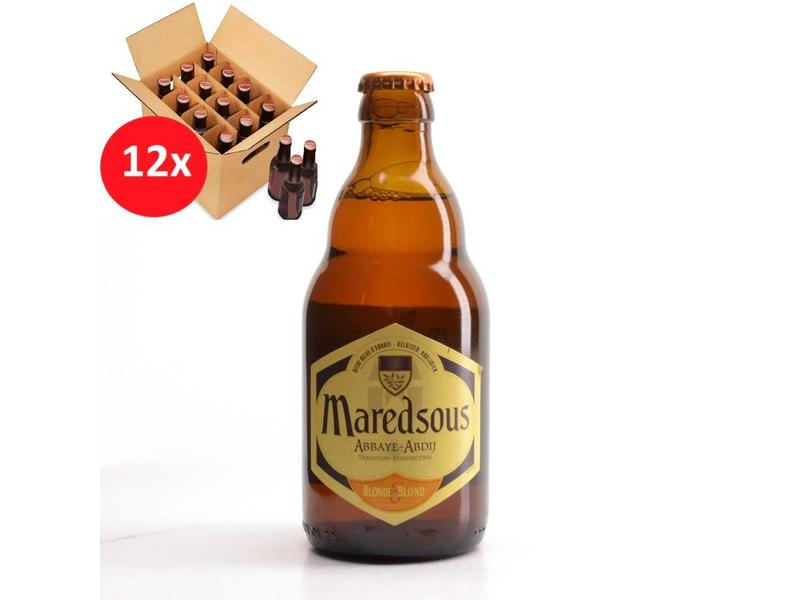 WA 12 pack Maredsous Blond 12 Pack