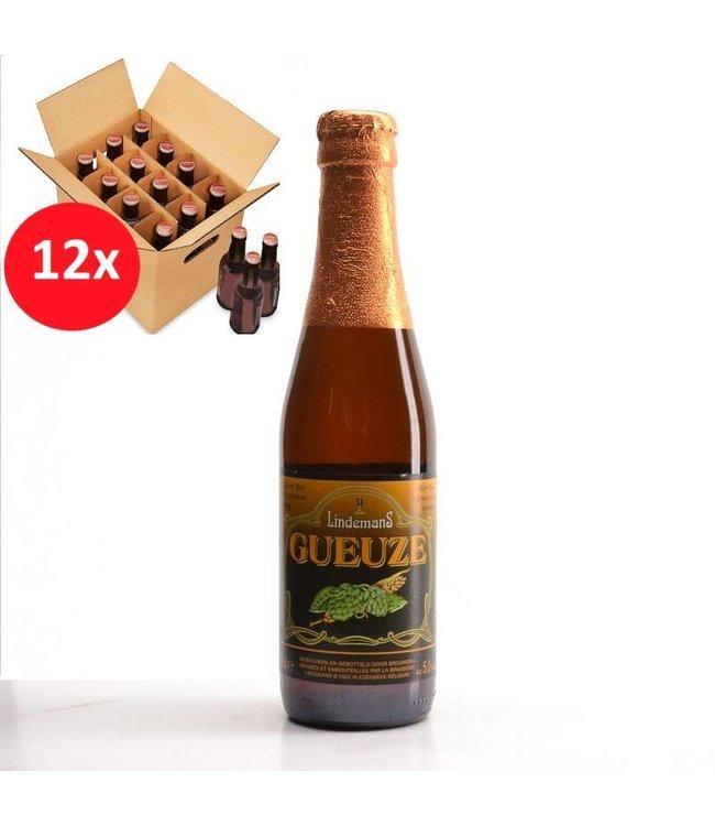 SET VAN 12    l-------l Lindemans Geuze 12 Pack