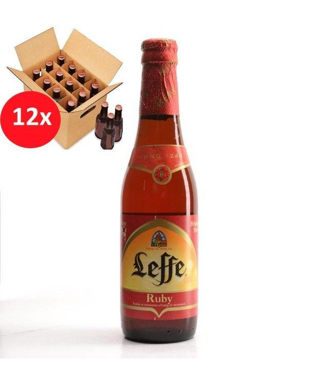 SET VAN 12    l-------l Leffe Ruby 12 Pack