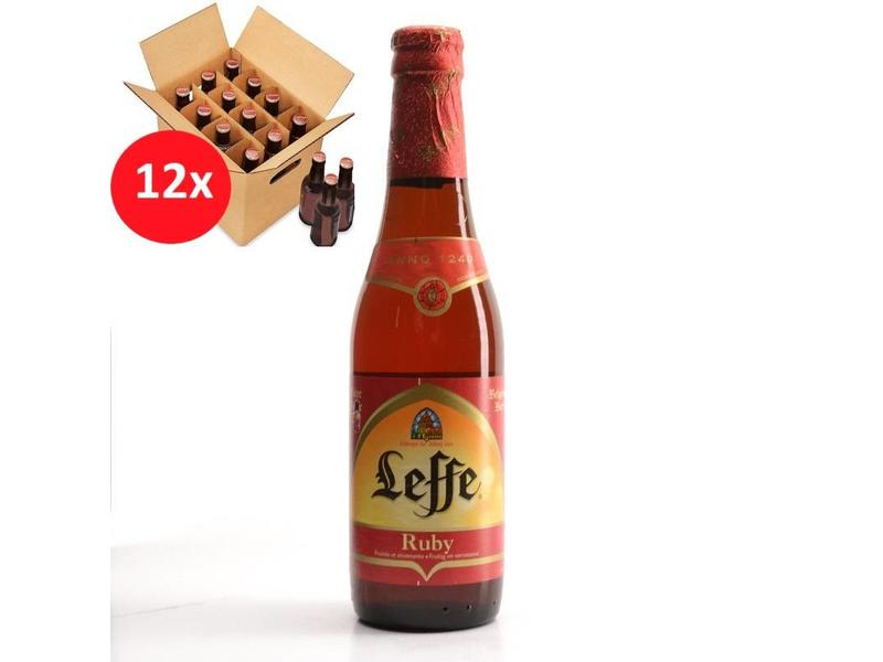 T Leffe Ruby 12 Pack