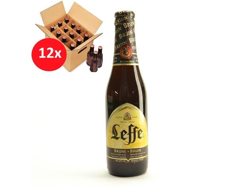 T Leffe Brown 12 Pack