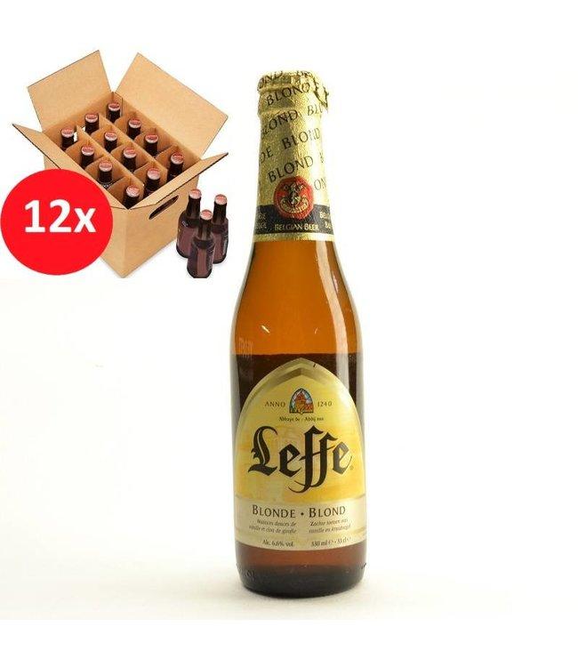 SET VAN 12    l-------l Leffe Blond 12 Pack