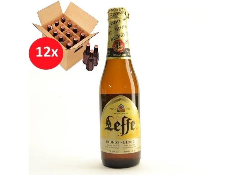 T Leffe Blond 12 Pack
