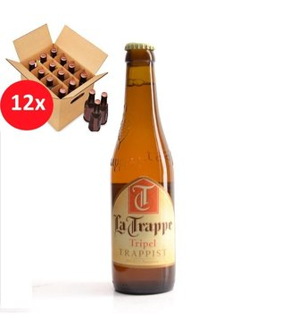 SET VAN 12    l-------l La Trappe Tripel 12 Pack