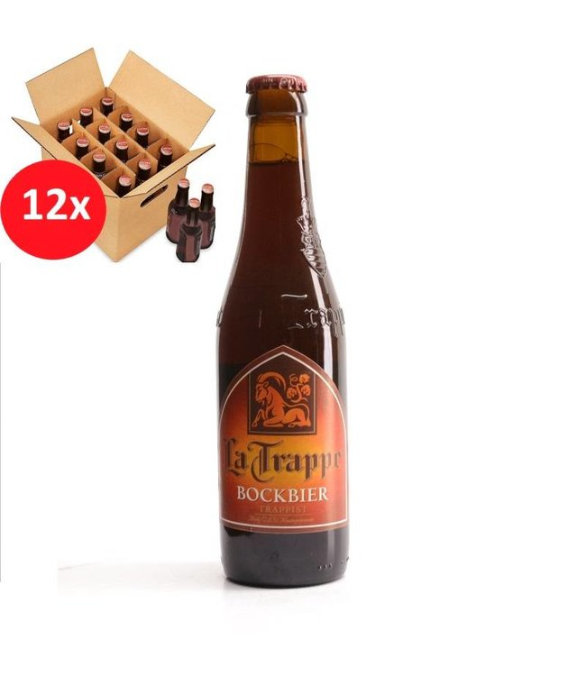 SET VAN 12    l-------l La Trappe Bock 12 Pack