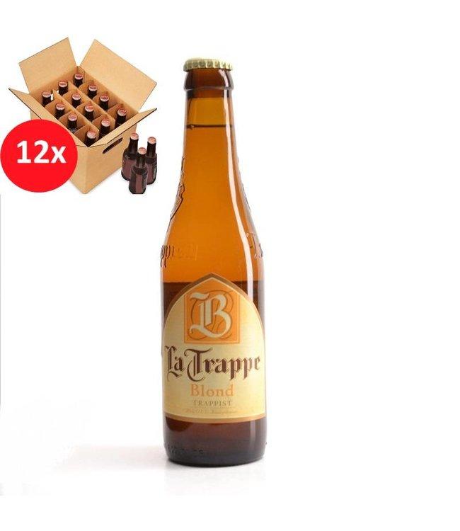 SET VAN 12    l-------l La Trappe Blond 12 Pack