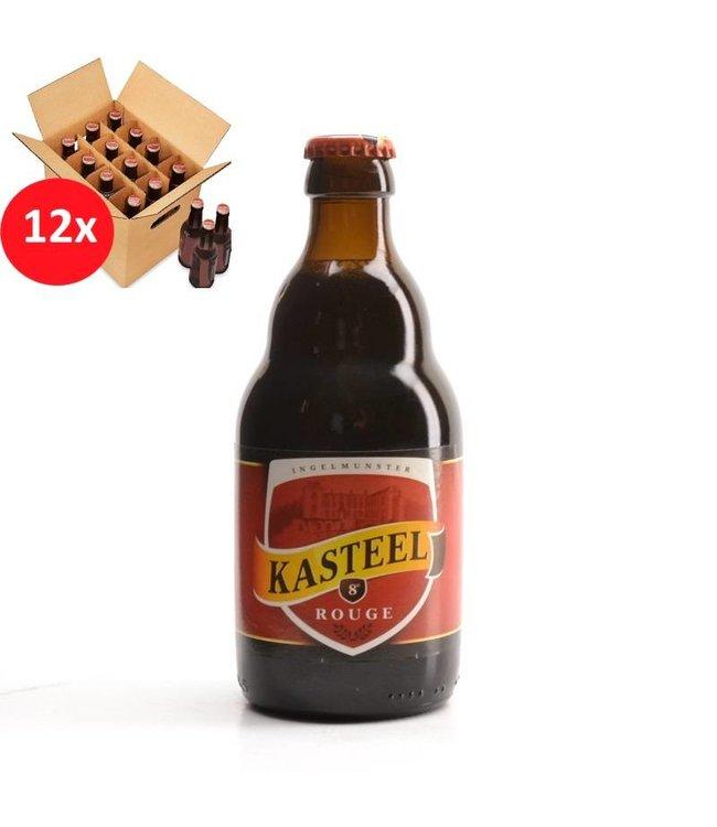 SET VAN 12    l-------l Kasteel Rouge 12 Pack