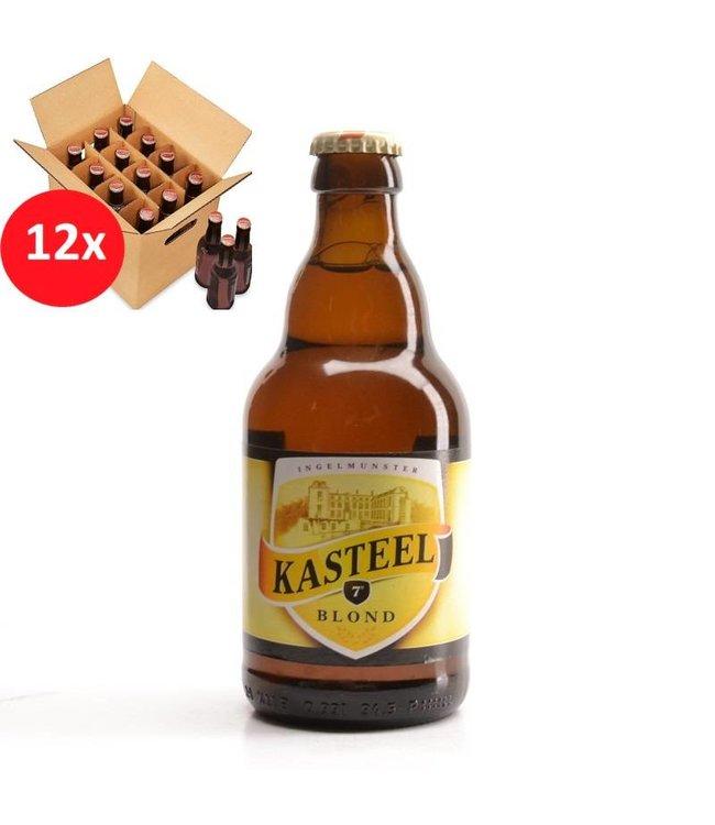 SET VAN 12    l-------l Kasteel Blond 12 Pack