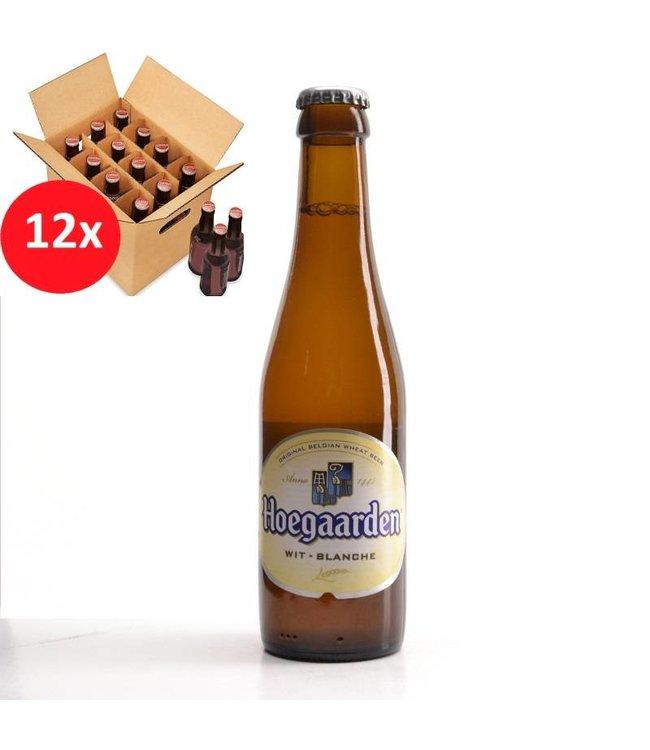 SET VAN 12    l-------l Hoegaarden  12 Pack