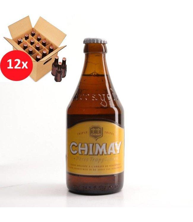 SET VAN 12    l-------l Chimay White 12 Pack