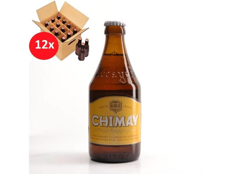 MA 12 pack Chimay White 12 Pack