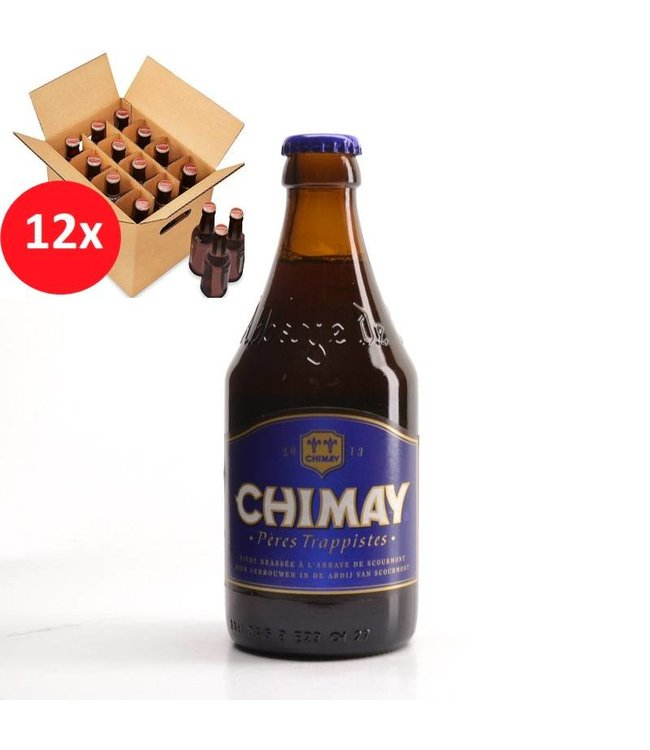 SET VAN 12    l-------l Chimay Bleu 12 Pack