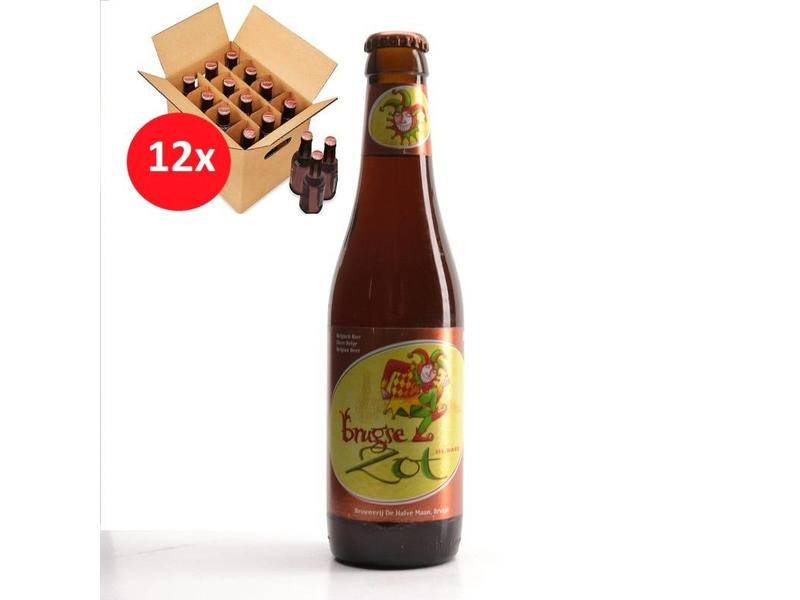 MA 12 pack Brugse Zot Dubbel 12 Pack