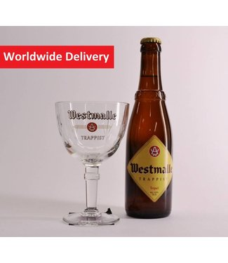 GLAS l-------l Westmalle Tasting Glass- 25cl