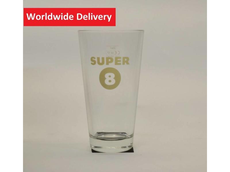 G6 Super 8 Bierglas - 33cl