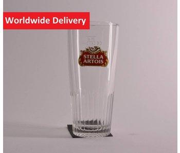 Stella Artois Bierglas, Gerippt - 25cl.