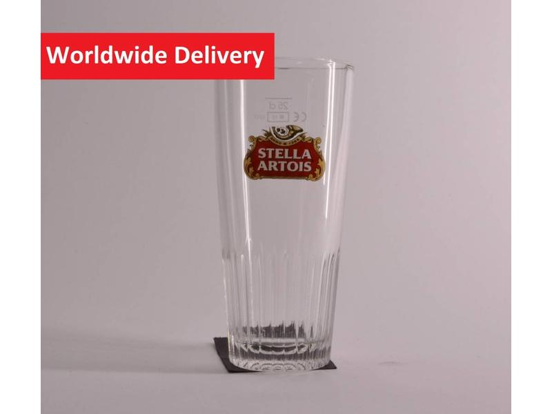 Stella Artois Ribbel Bierglas - 25cl.