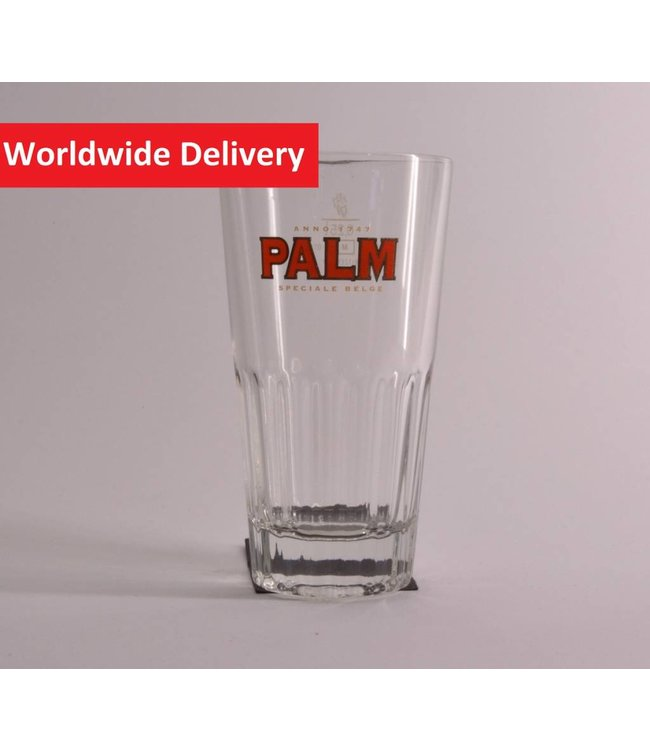 Palm Ribbed Beer Glass - 25cl.