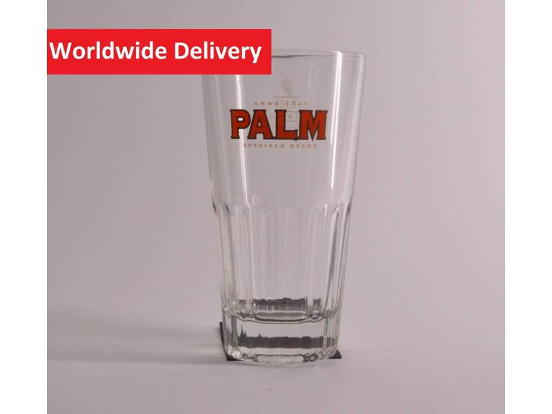 Palm Ribbed Beer Glass- 25cl.
