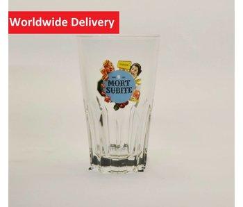 Mort Subite Beer Glass (Ribbel)   - 25cl.