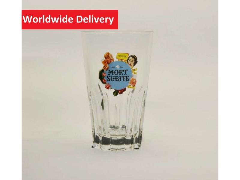 MAGAZIJN // Mort Subite Beer Glass (Ribbel)   - 25cl.
