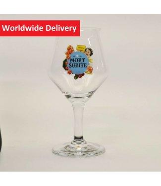 GLAS l-------l Mort Subite Beer Glass (Bol)   - 25cl.