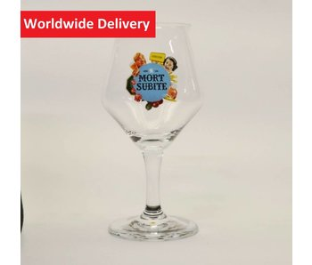 Mort Subite Beer Glass (Bol)   - 25cl.