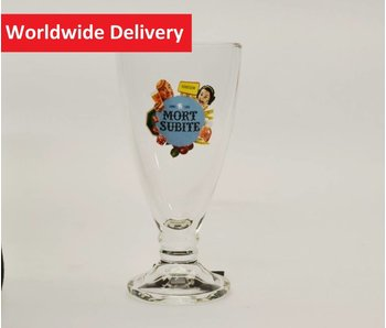 Mort Subite Beer Glass (Fluit) - 25cl.