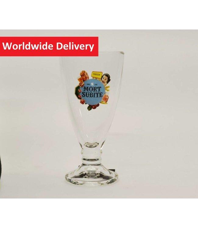 MAGAZIJN // Mort Subite Beer Glass (Fluit) - 25cl.