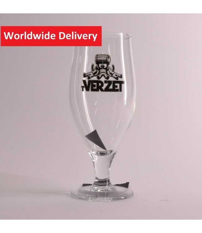 't Verzet Beer Glass - 25cl.