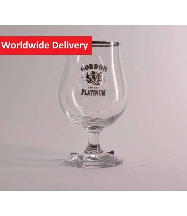 Gordon Platinum Beer Glass - 25cl.