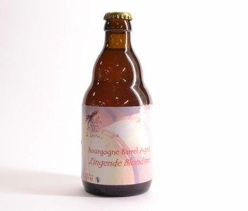 Gaverhopke Zingende Blondeine Bourgogne Barrel Aged - 33cl
