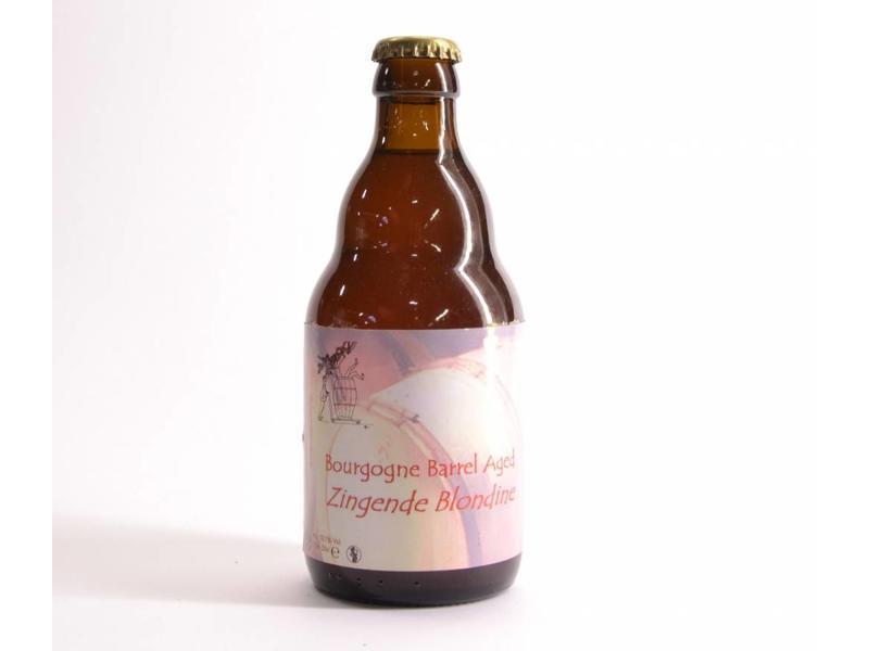 WA Gaverhopke Zingende Blondine Bourgogne Barrel Aged - 33cl